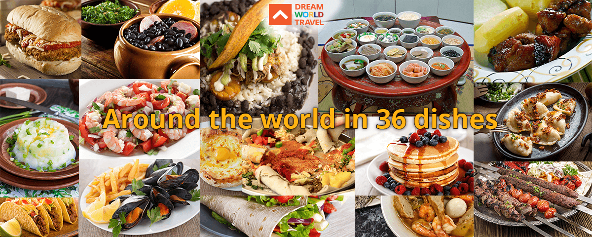 Around the world in 36 dishes