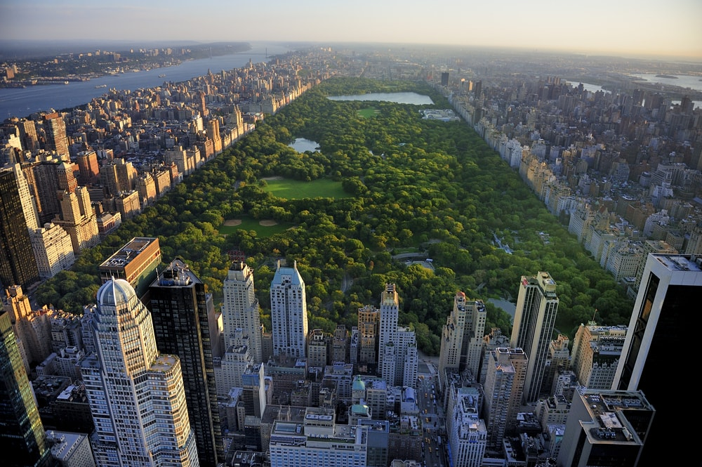 View of the Central Park in a single glance!