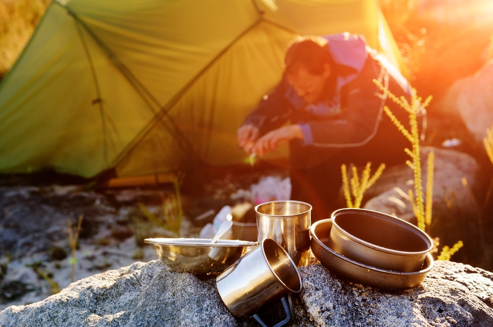 Cooking in your tent