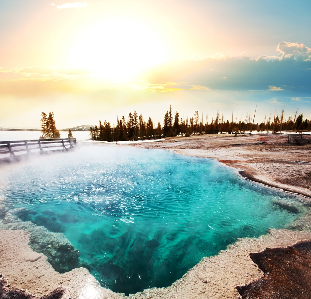 Soak yourself in hot spring