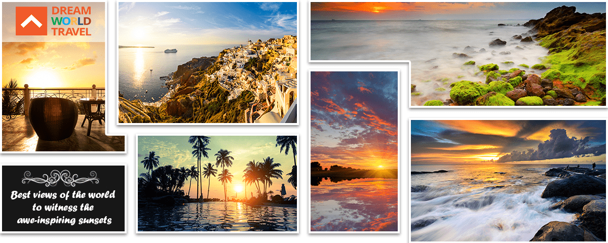 The best views of the world to witness the awe-inspiring sunsets