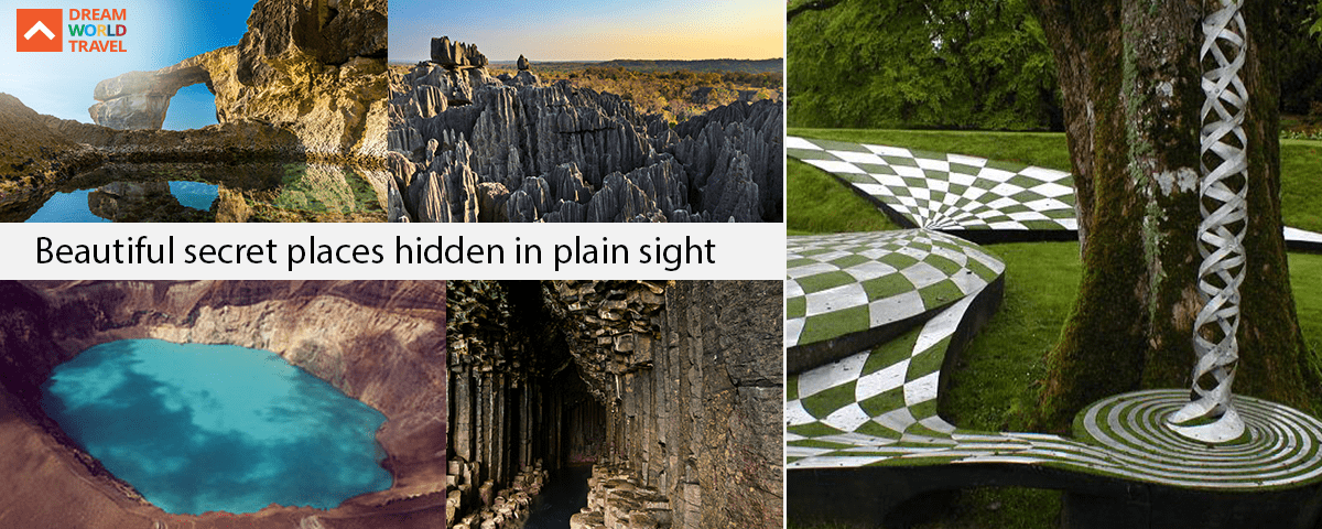 Beautiful secret places hidden in plain sight