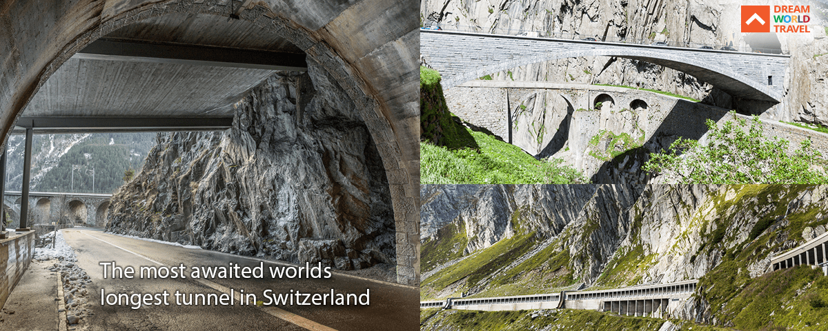 The Most Awaited World's longest Tunnel in Switzerland