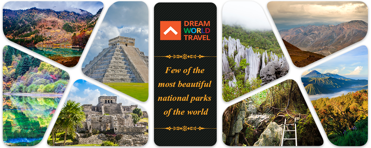 Few of the most beautiful national parks of the world