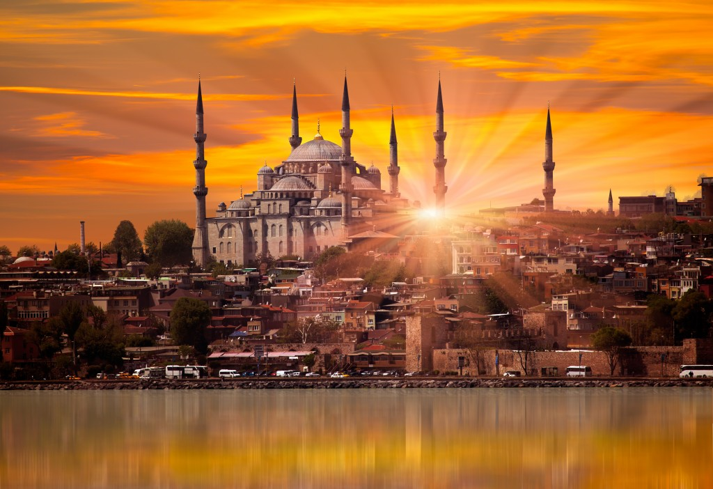 Istanbul's Blue Mosque VALENTINE'S